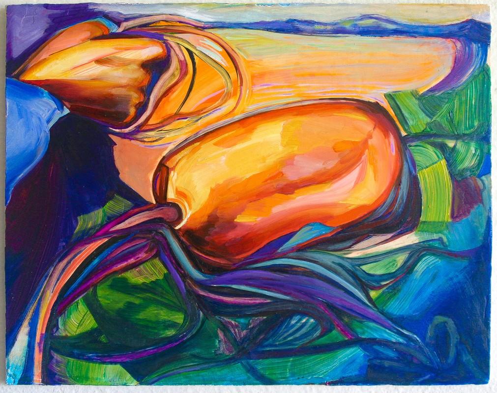 Artwork – Buoy (original painting), 2020