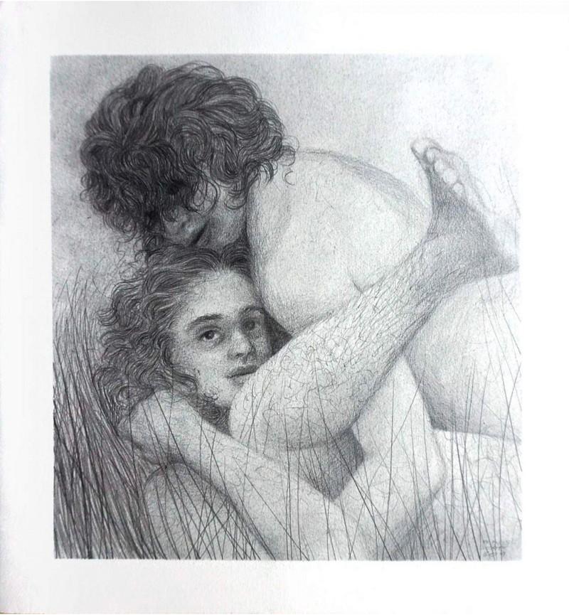 """Artwork – Frances Waite, """"Nudist excuse"""", 2019"""