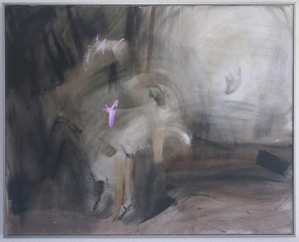 Artwork – Cyborg Painting, Haunting (II), 2017