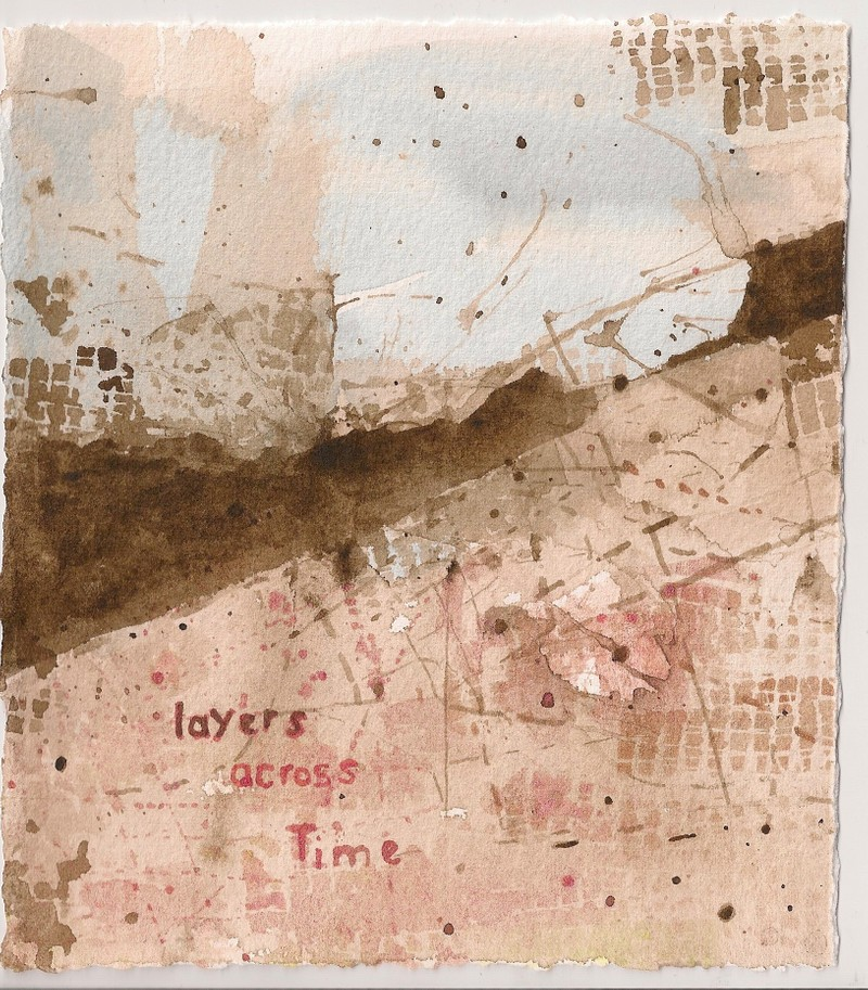 Artwork – layers across Time, 2020