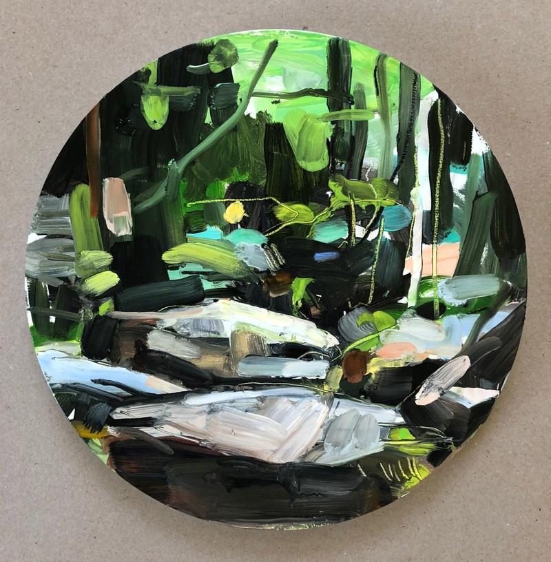 Artwork – Platte Clove V (After Hudson River School), 2019