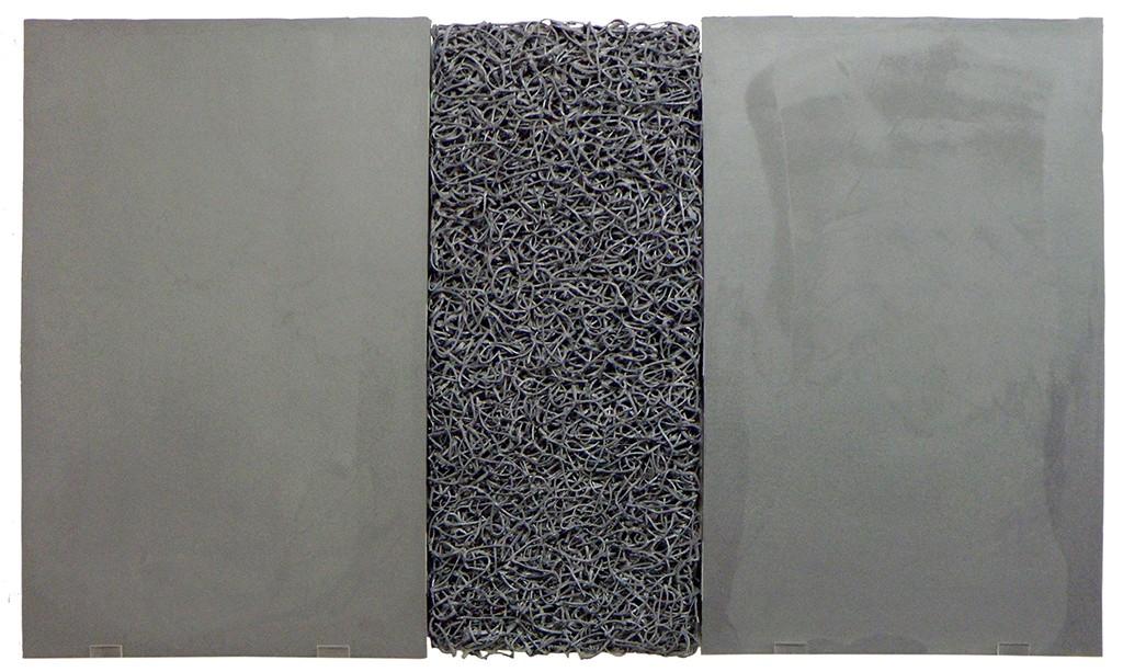 Artwork – Grey-Silver 1, 2019