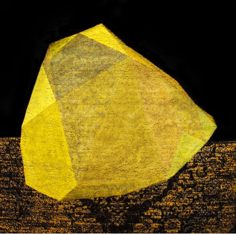 Artwork – Yellow Diamond, 2018