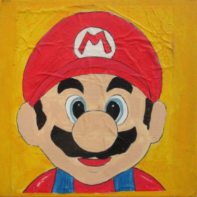 Artwork – Mario (Study #1), 2009