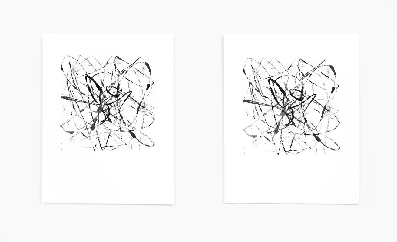Artwork – Marble Drawing 20.03, 2020