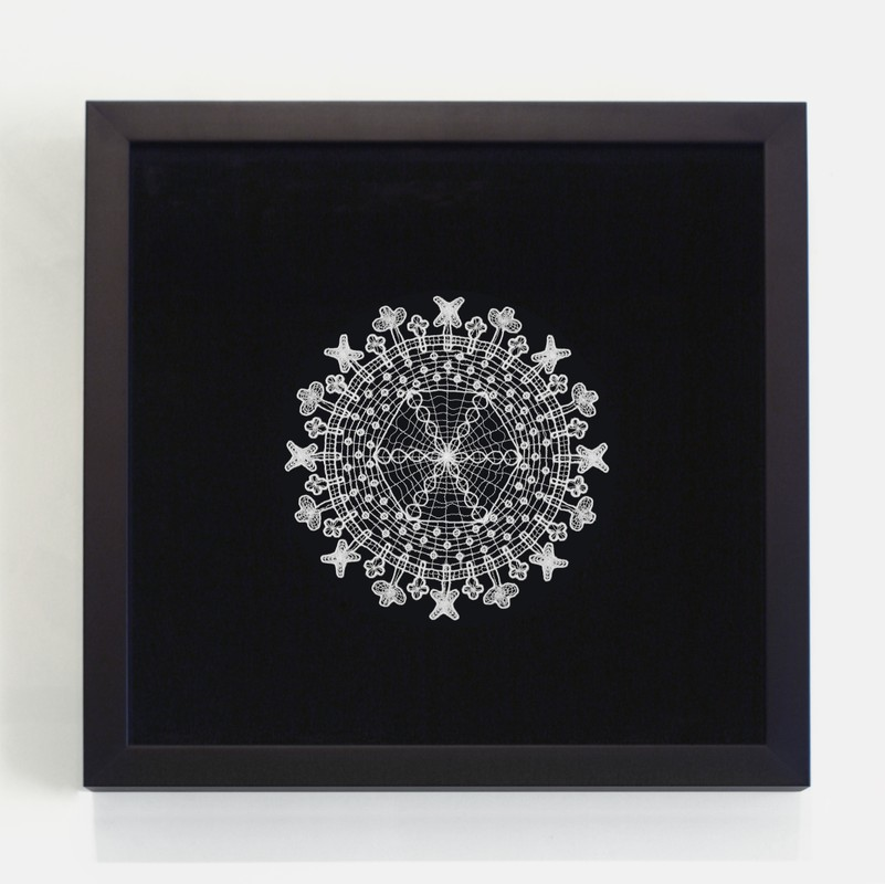 Artwork – Doilies (Herpes), 2004