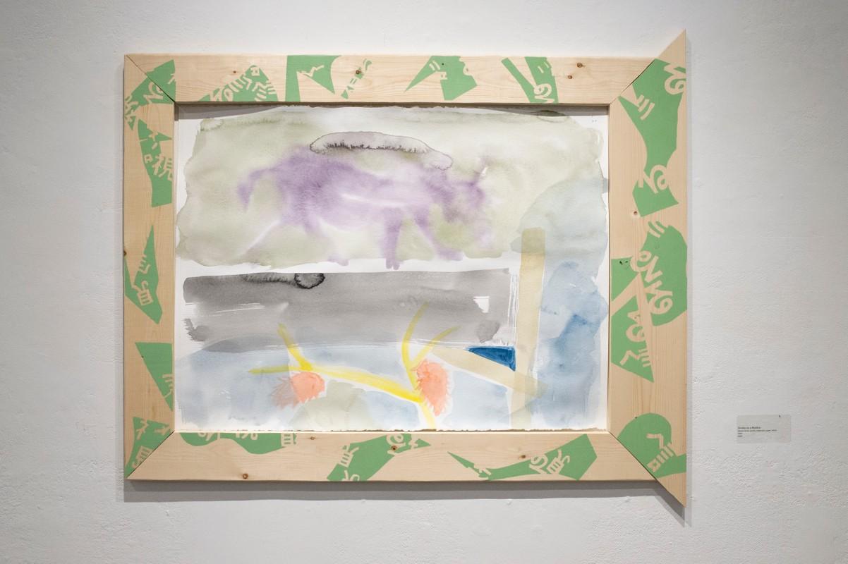 Artwork – Sumire Skye Taniai, Donkey on a Mailbox, 2020