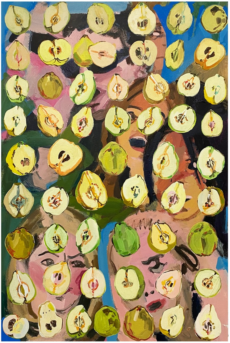 Artwork – SARAH COOTE  :  Fruit of Eve in the Hills, 2021