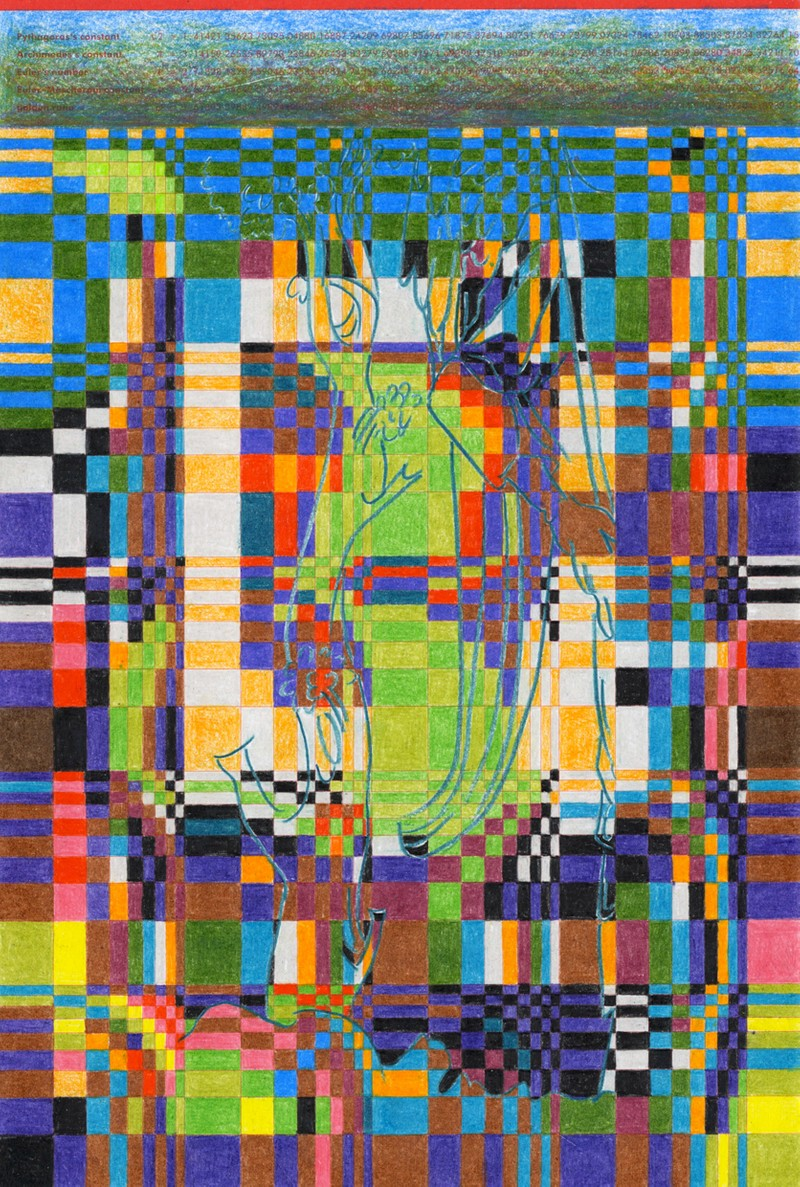 Artwork – Untitled pattern study (tree), 2020