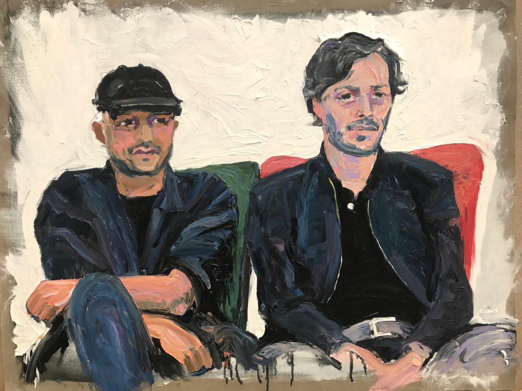 Artwork – Domenico and Federico, 2017