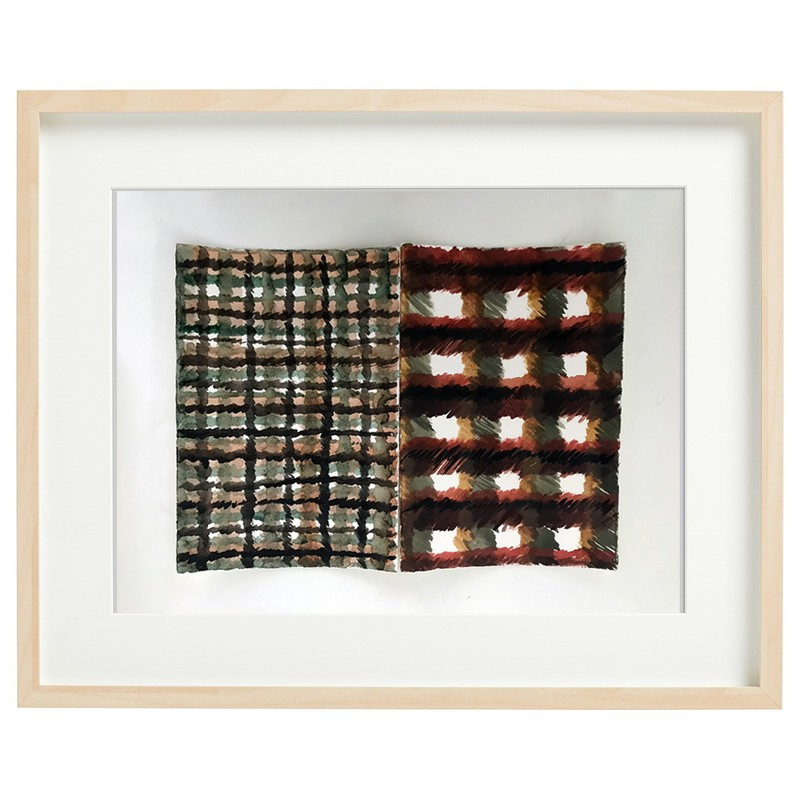 Artwork – Paired Plaids, 2019