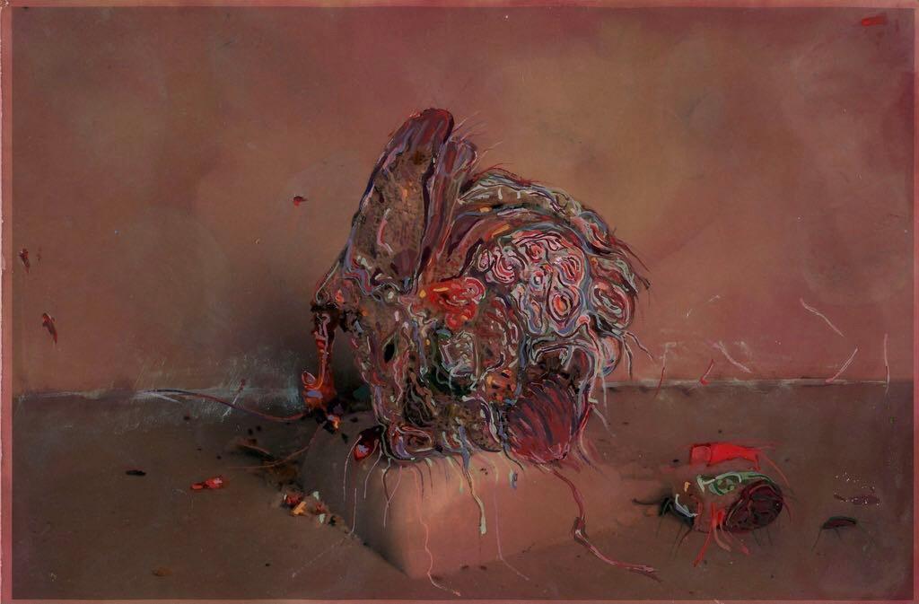 Artwork – Compost/Composed - Renaissance Red, 2021