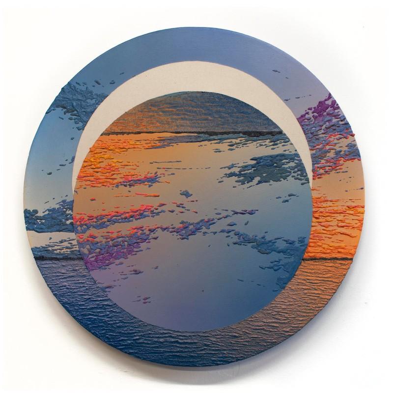 Artwork – Ascending Moon (Crescent Beach), 2020