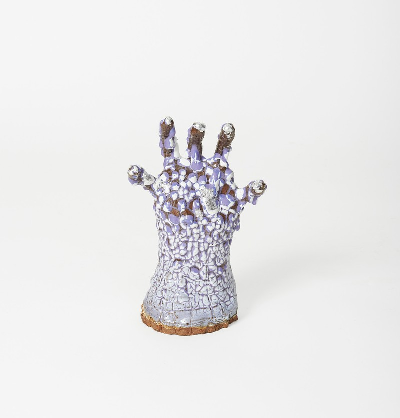 Artwork – Elisa Soliven, Hand (Purple crawl), 2020
