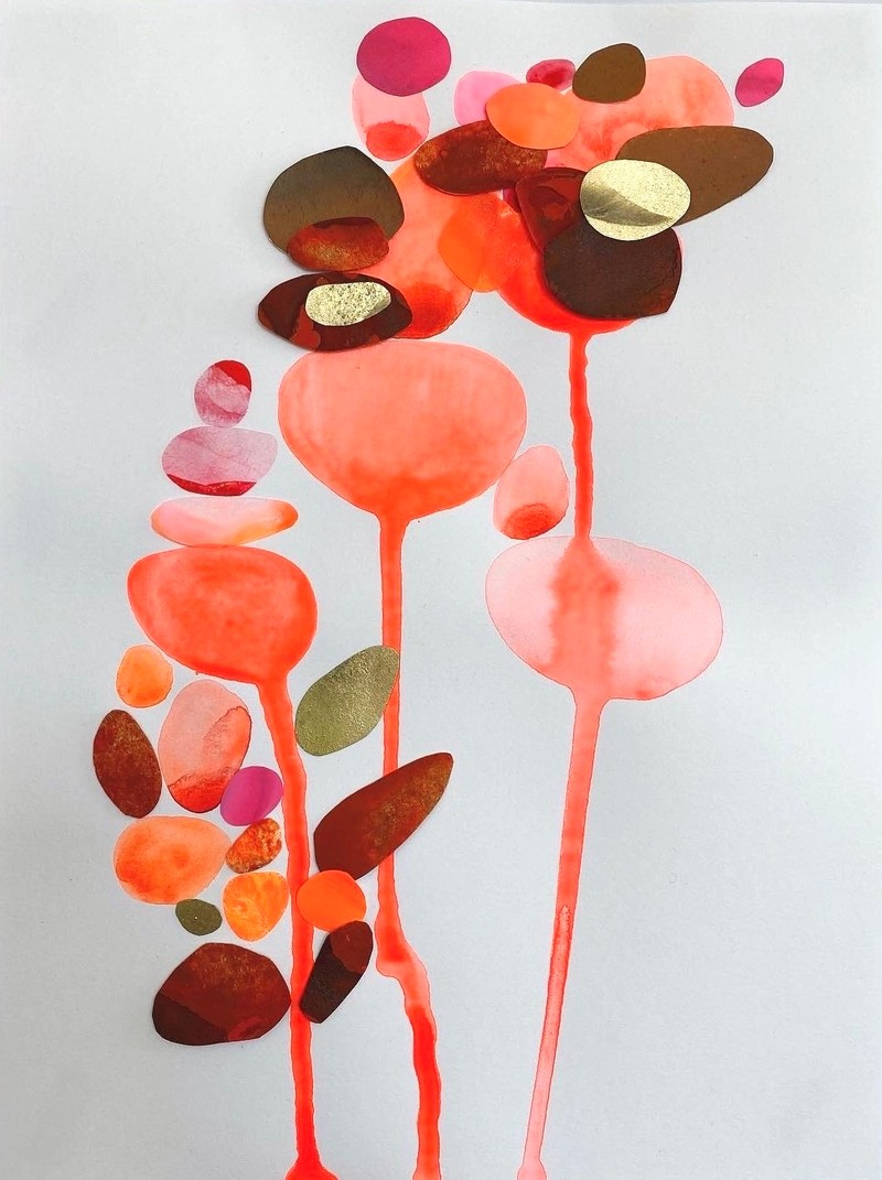 Artwork – Composition in Orange, 2020