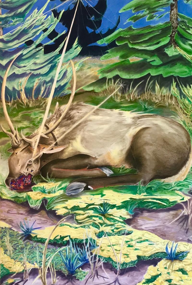 Artwork – Eleanor Mahin Thorp, You Will Become a Garden Too, 2020