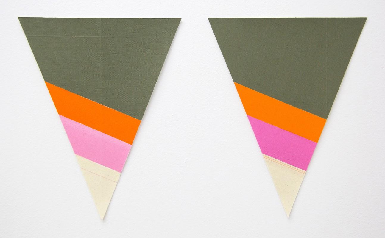 Artwork – Flagettes, No. 8 (Diptych), 2018