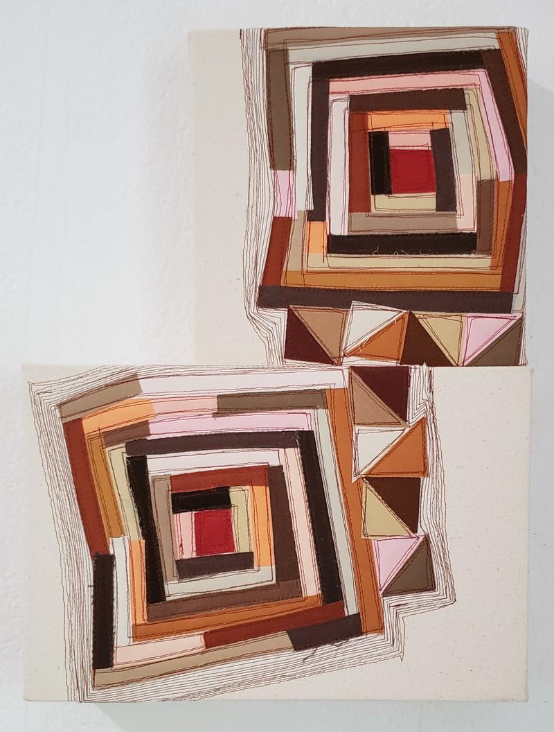 Artwork – Americana Quilt 32 & 33, 2020