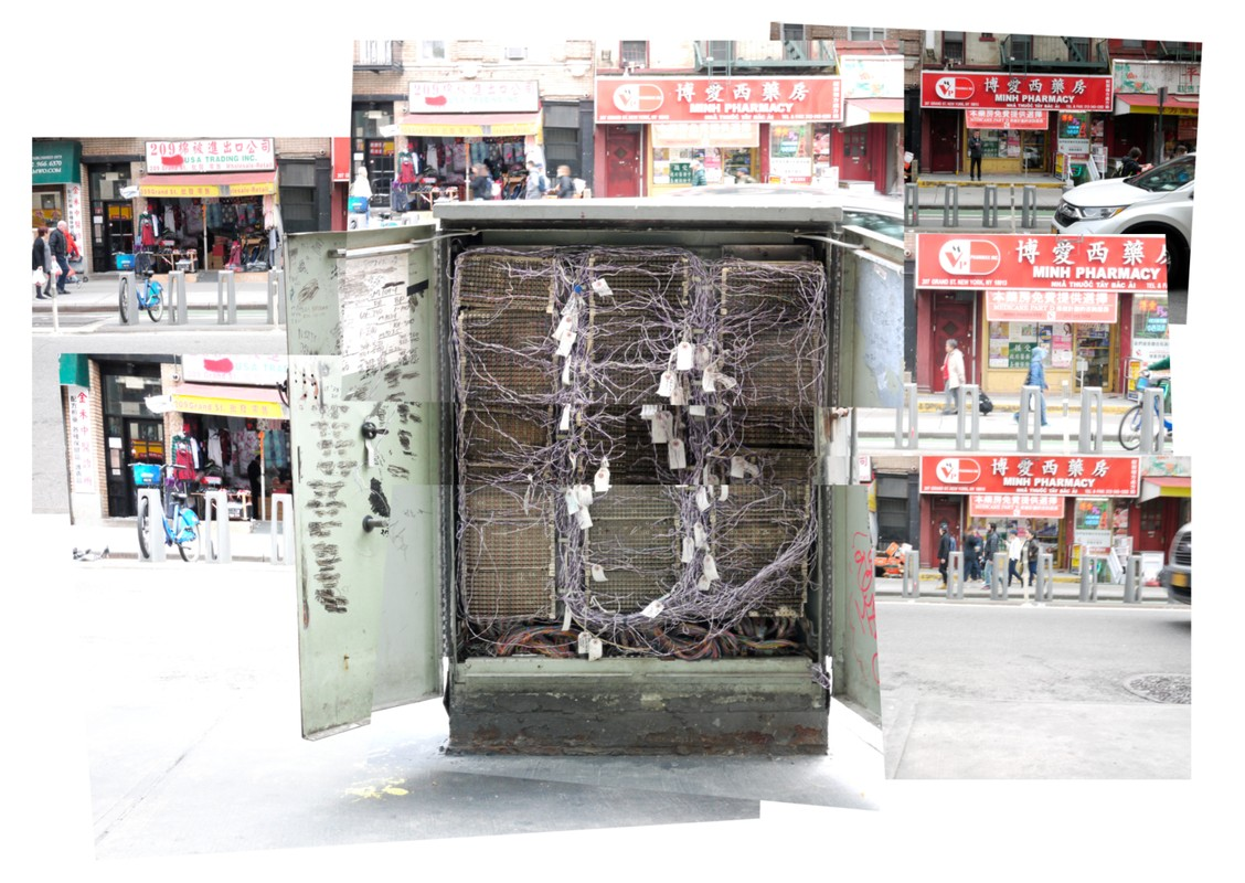Artwork – Markus Holtby, Chinatown Phone Box: Open Face, 2019