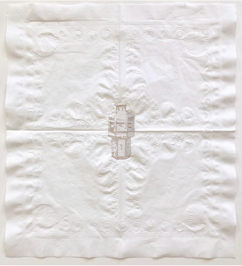 Artwork – Maximum Security, Napkin Apparition, 2, 2019