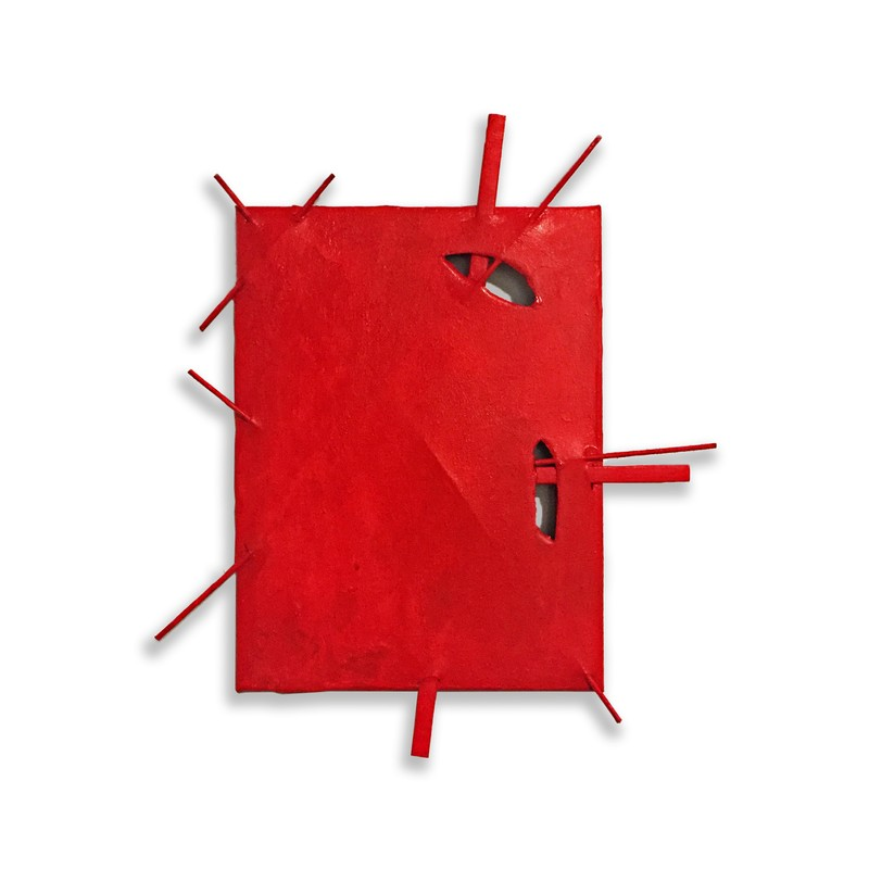 Artwork – Suprematist Construction (Red), 2018