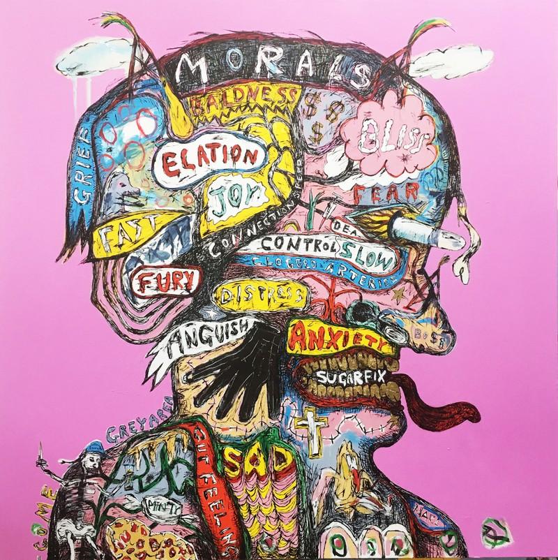 Artwork – Pink Phrenologist, 2017