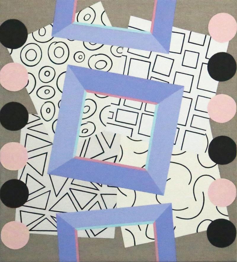 """Artwork – Stacie Johnson, """"Collage"""", 2019"""