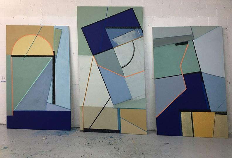 Artwork – Triptych E-239, 2021