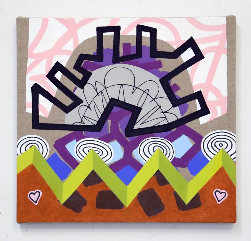 """Artwork – Stacie Johnson, """"Valentine's Day"""", 2019"""