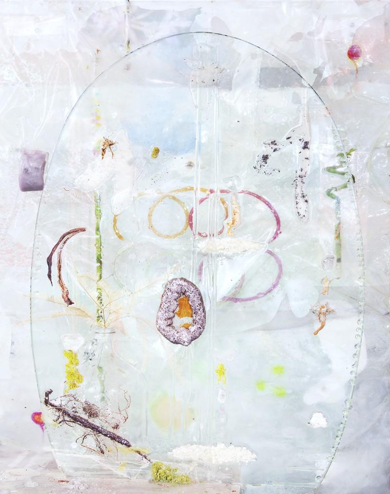 """Artwork – Heidi Norton, """"Ellipse with Spirals"""", 2019"""