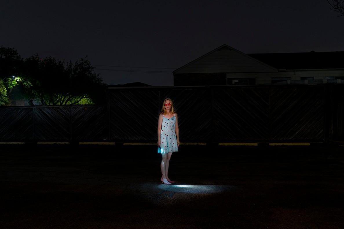 "Artwork – Allison Hunter, ""Wearing the Cherry Slip,"" from the ""Sleepwalker"" series, 2020"
