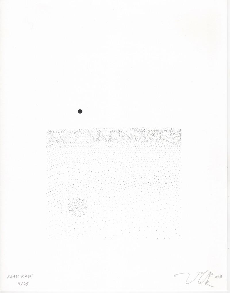 Artwork – Dot in Ocean Print, 2018