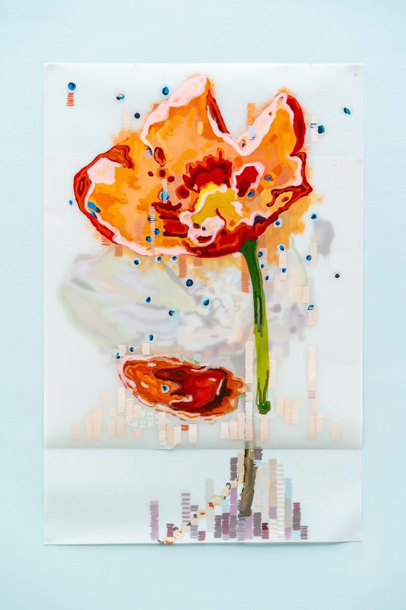 Artwork – Poppy (Remembrance), 2019