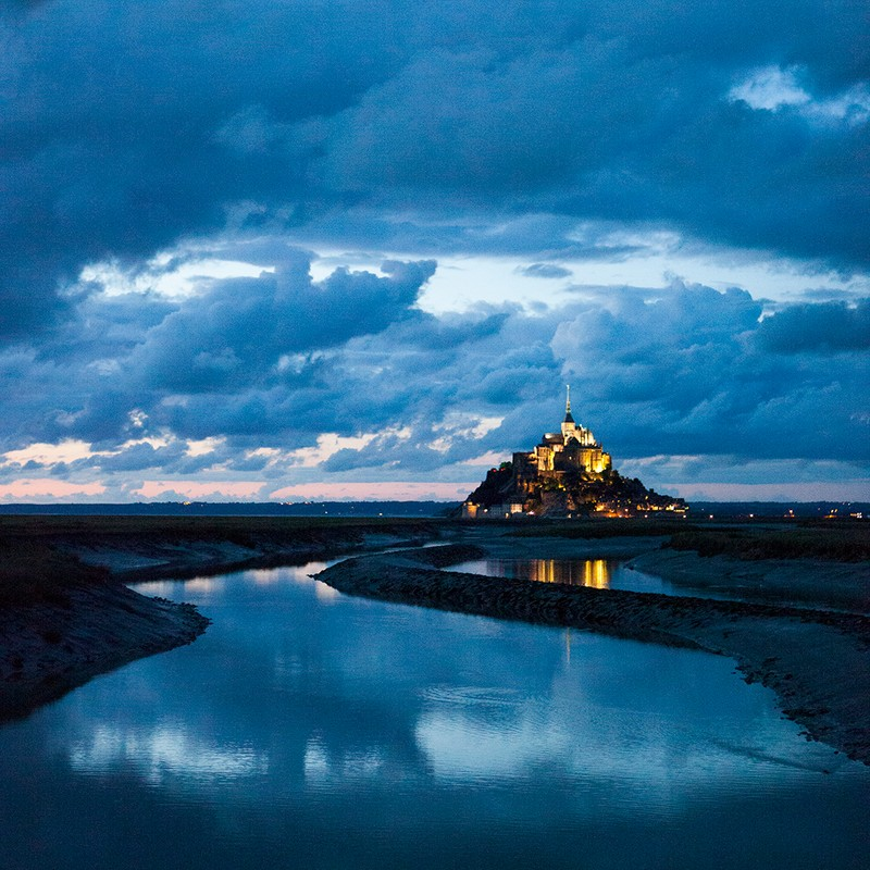"Artwork – Patricia Barrett, ""Mont St. Michel"", 2014"