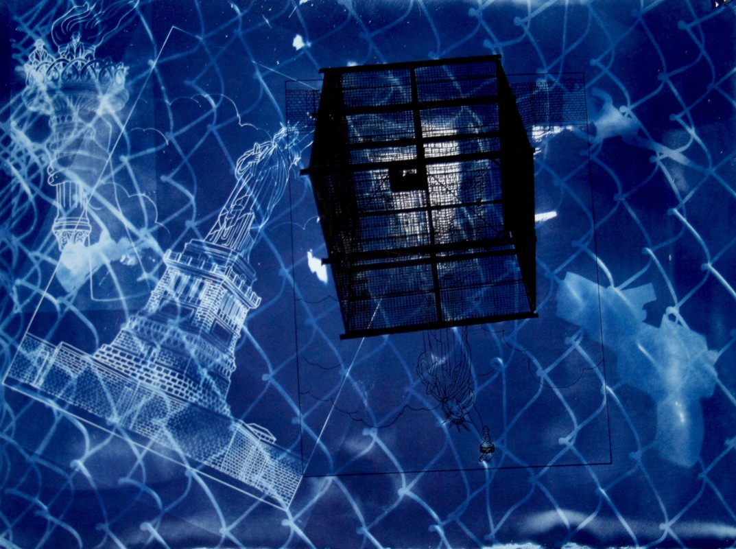 Artwork – Liberty in a Cage, 2020