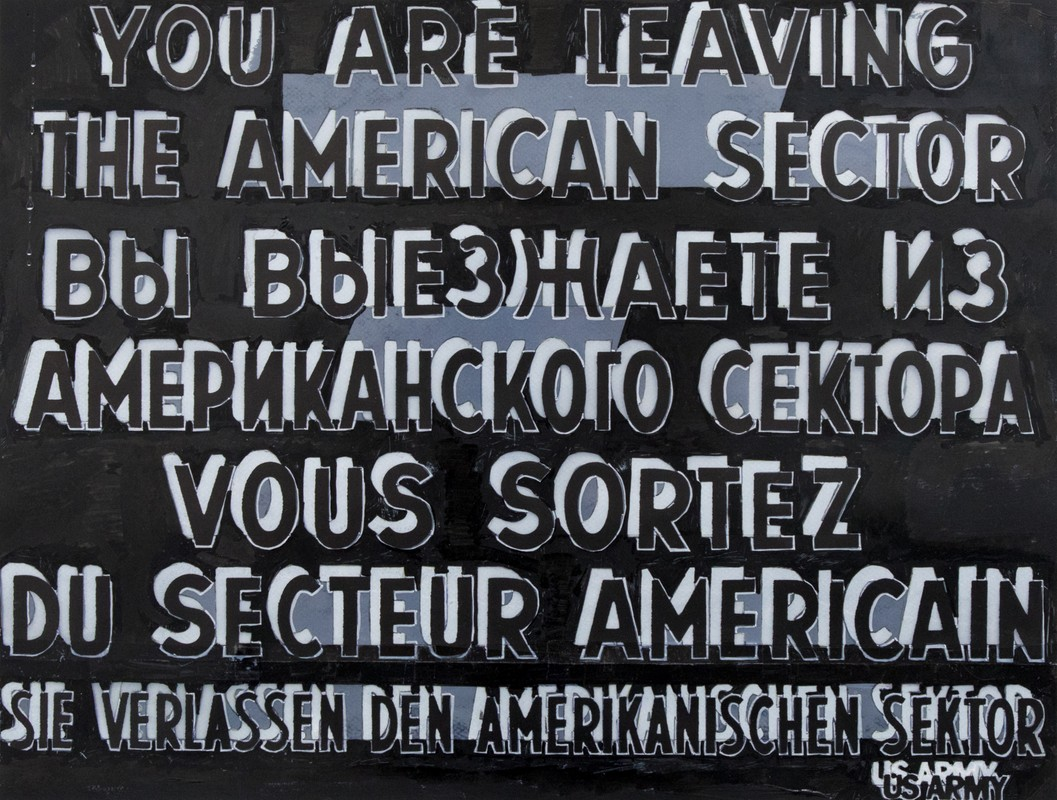 Artwork – Checkpoint Charlie no.2, 2018