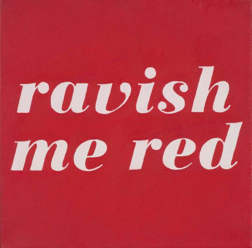 Artwork – Revlon No. 654: Ravish Me Red, 2014