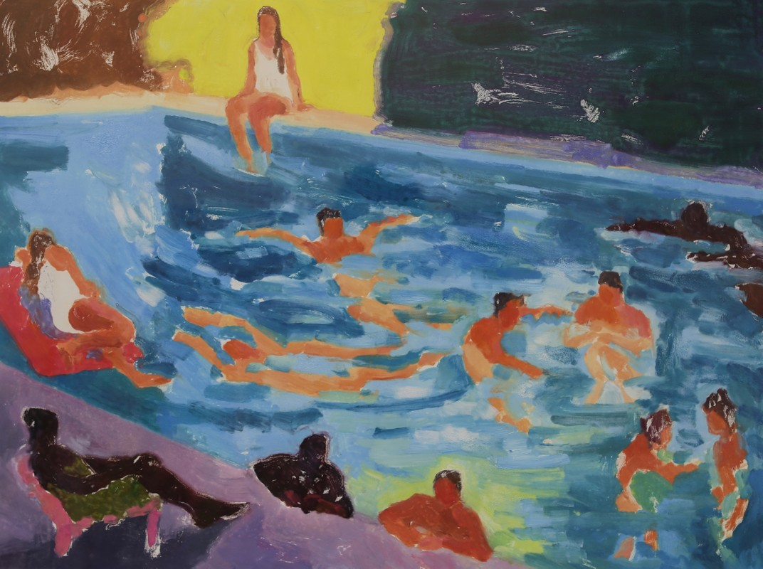 Artwork – Silverlake swimmers, 2018