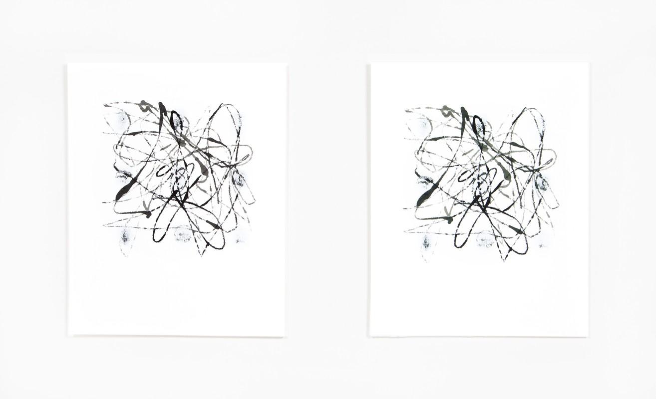 Artwork – Marble Drawing 20.02, 2020