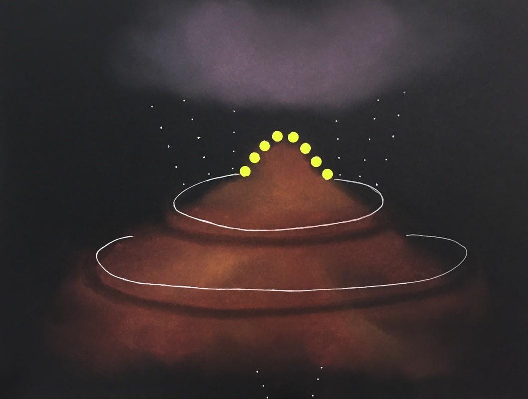 Artwork – AR Quanta 8 (pyramid), 2017