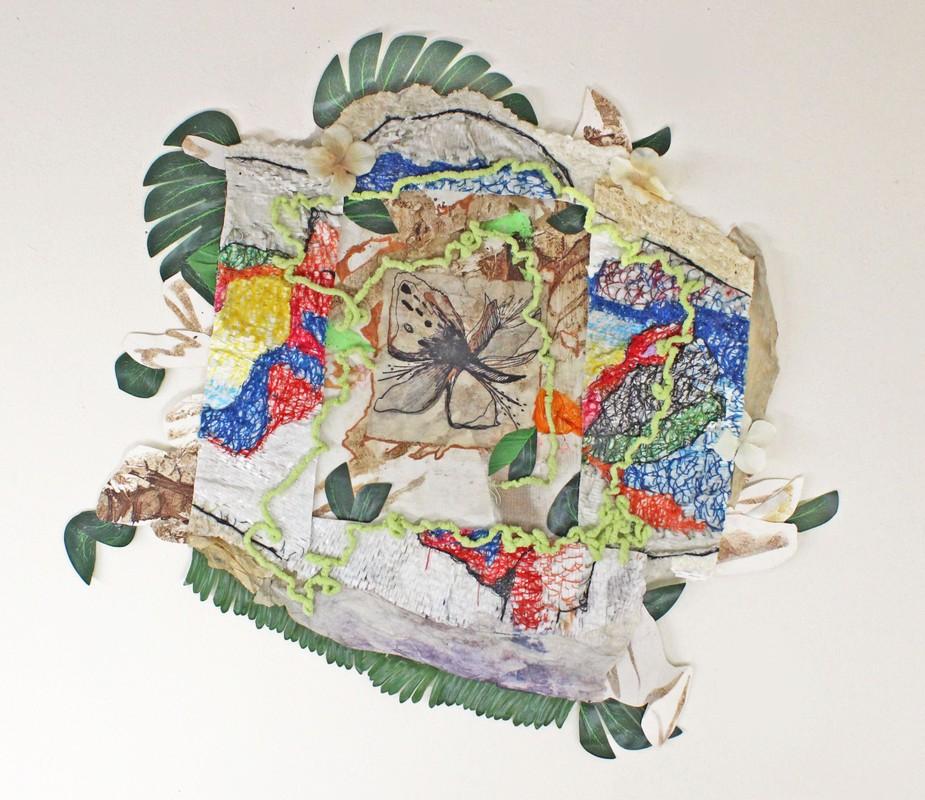 Artwork – La flor de la mente florecera en maneras extrañas, 2020