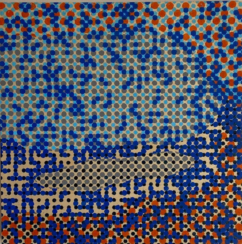 Artwork – Niqqudot #138, 2020