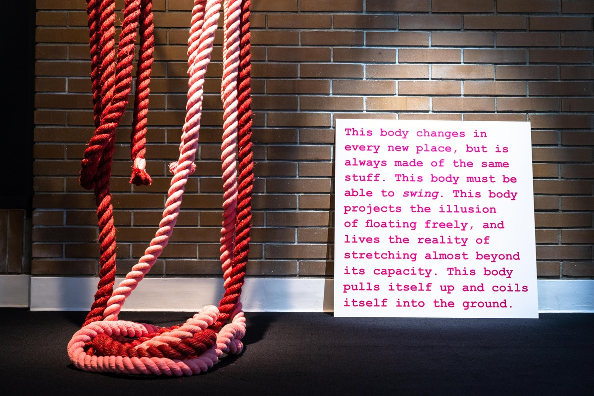 Artwork – Ropes, Pinks, 2019