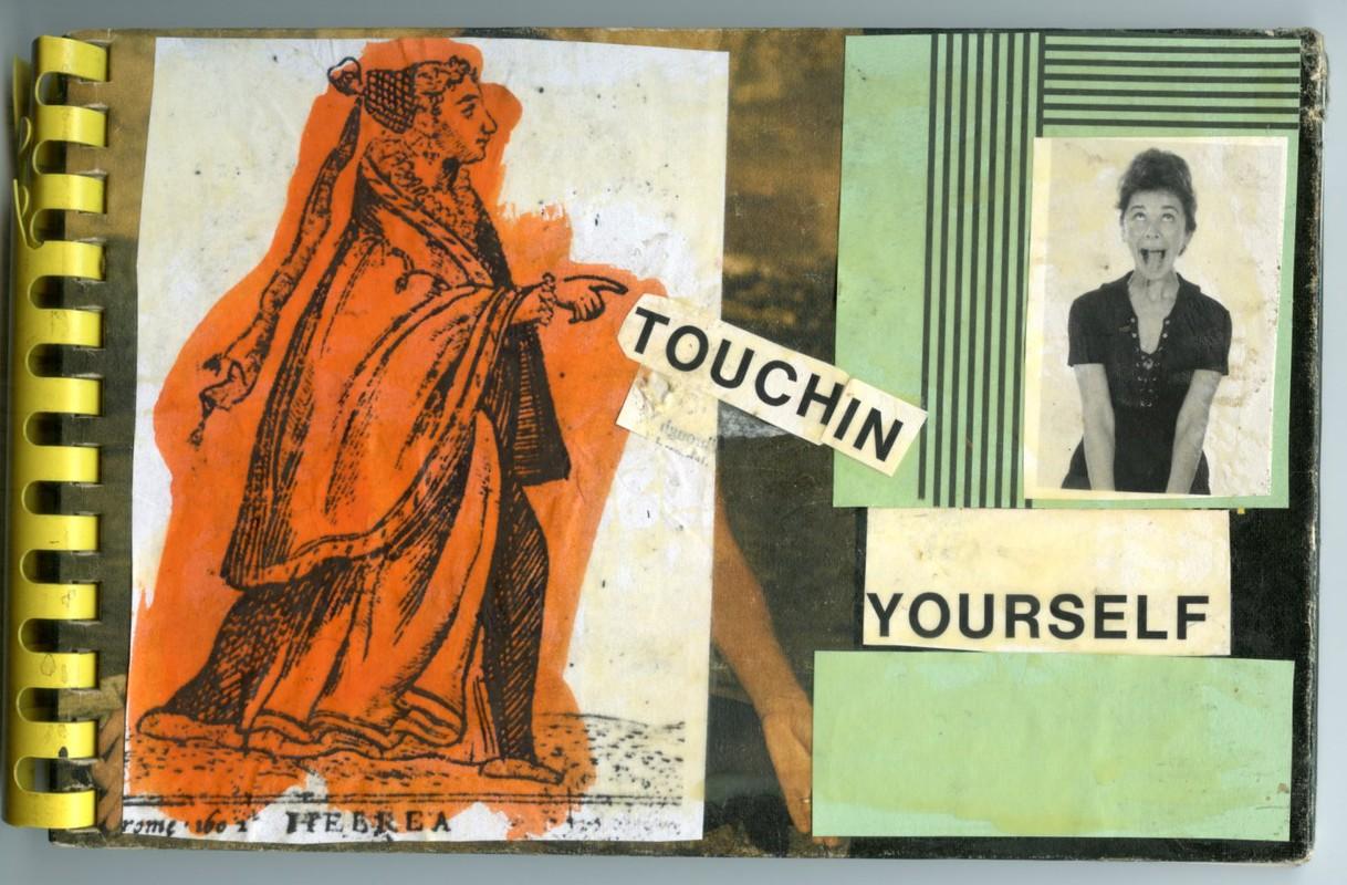 Artwork – MATTHEW THURBER  :  Touchin Yourself, 2021