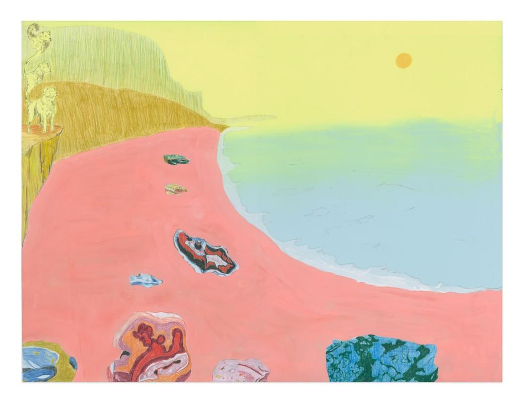 Artwork – Beach with Rocks, 2021