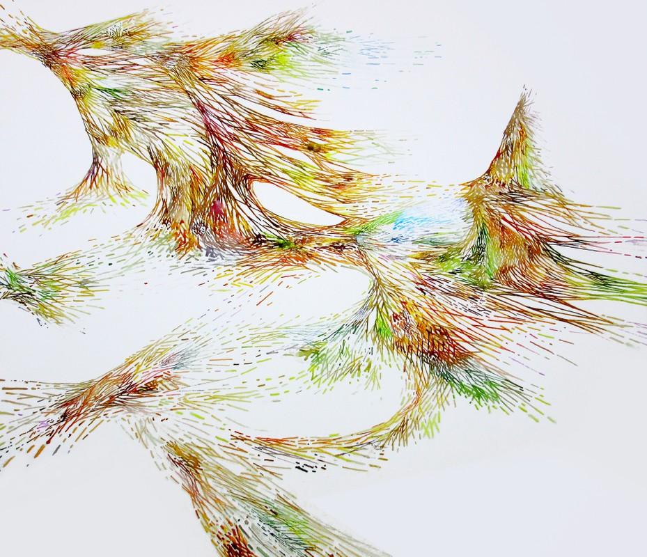 Artwork – Bryan Stryeski, Windswept, 2017