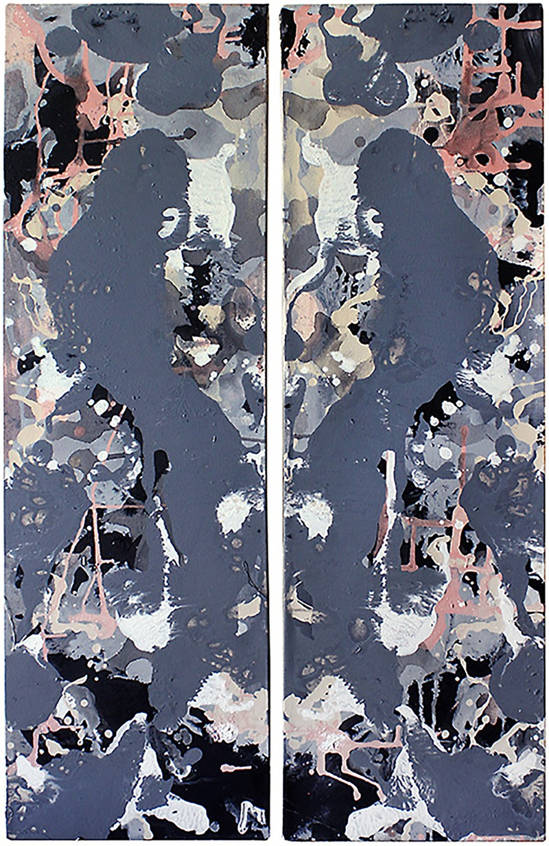 "Artwork – ""Untitled"" diptych 1, 2015"