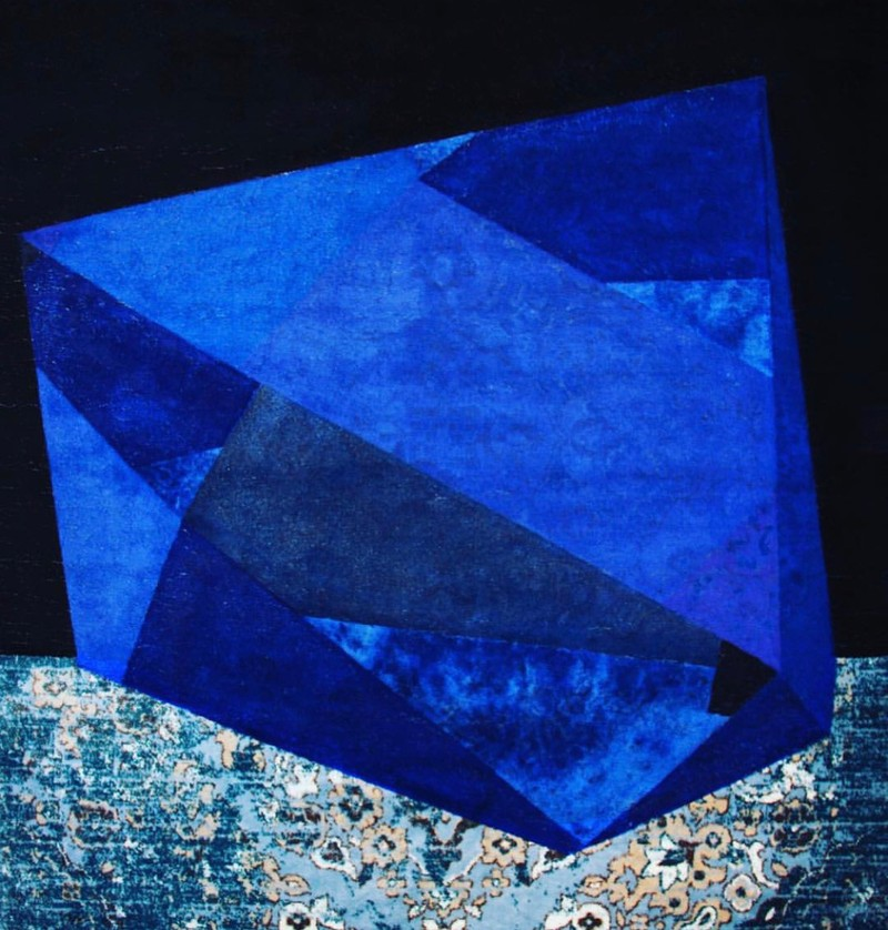 Artwork – Blue Diamond, 2018