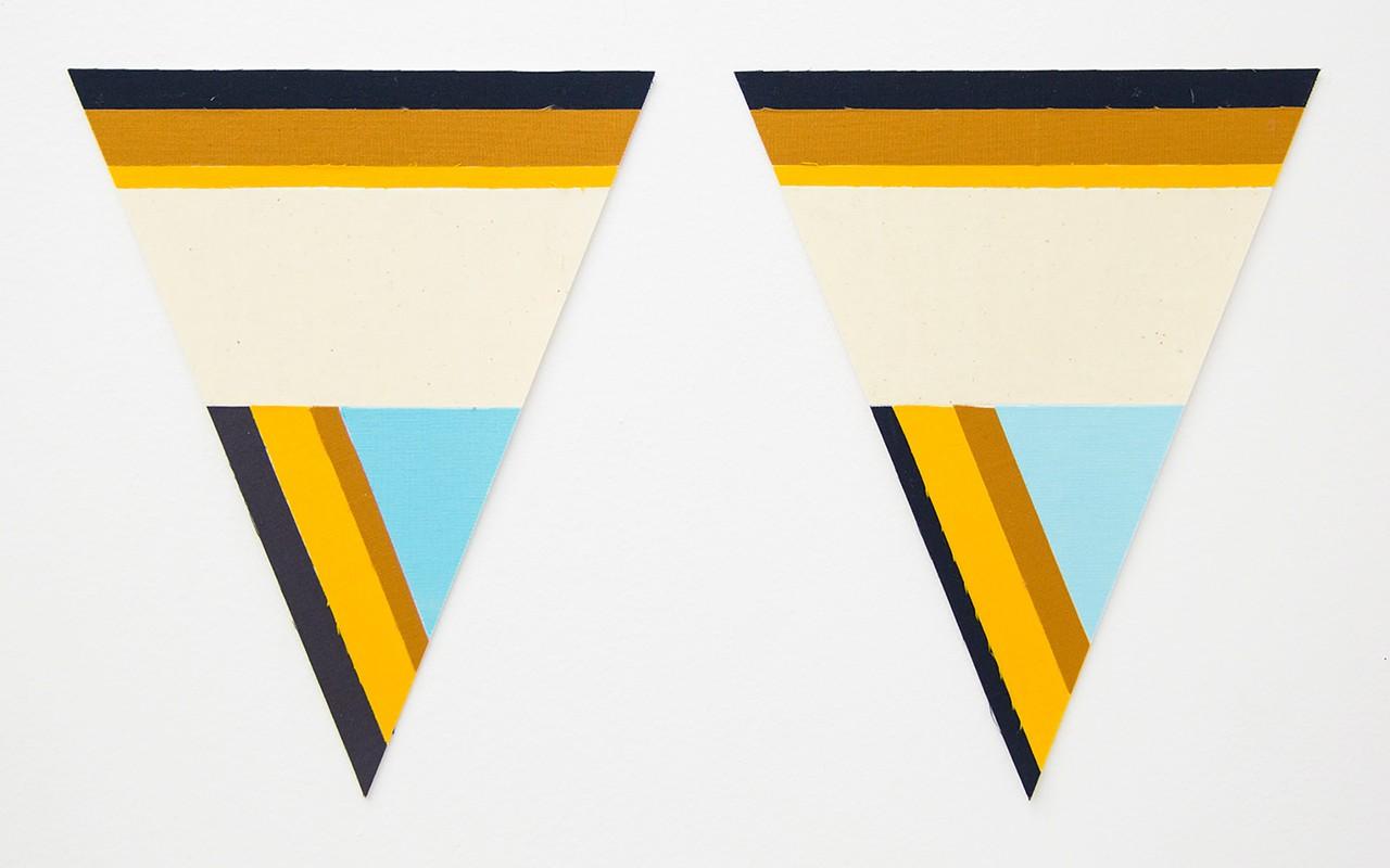 Artwork – Flagettes, No. 14 (Diptych), 2018