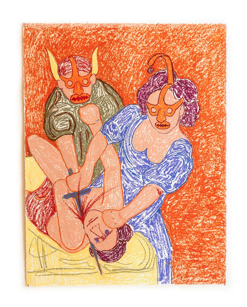 Artwork – Judith and Her Maidservant (After Artemisia), 2020